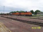 BNSF 9835, BNSF 5958, & BNSF 4012-DPU