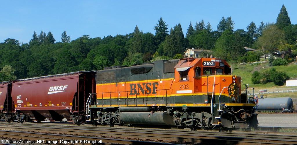 BNSF 2103-BNSF 490094