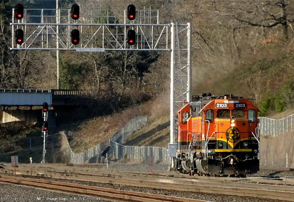 BNSF 2103