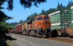 BNSF 5782-UP 6501