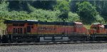 BNSF 5823 (nosecone of BNSF 2091)