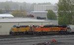 UP 7242-BNSF 7142
