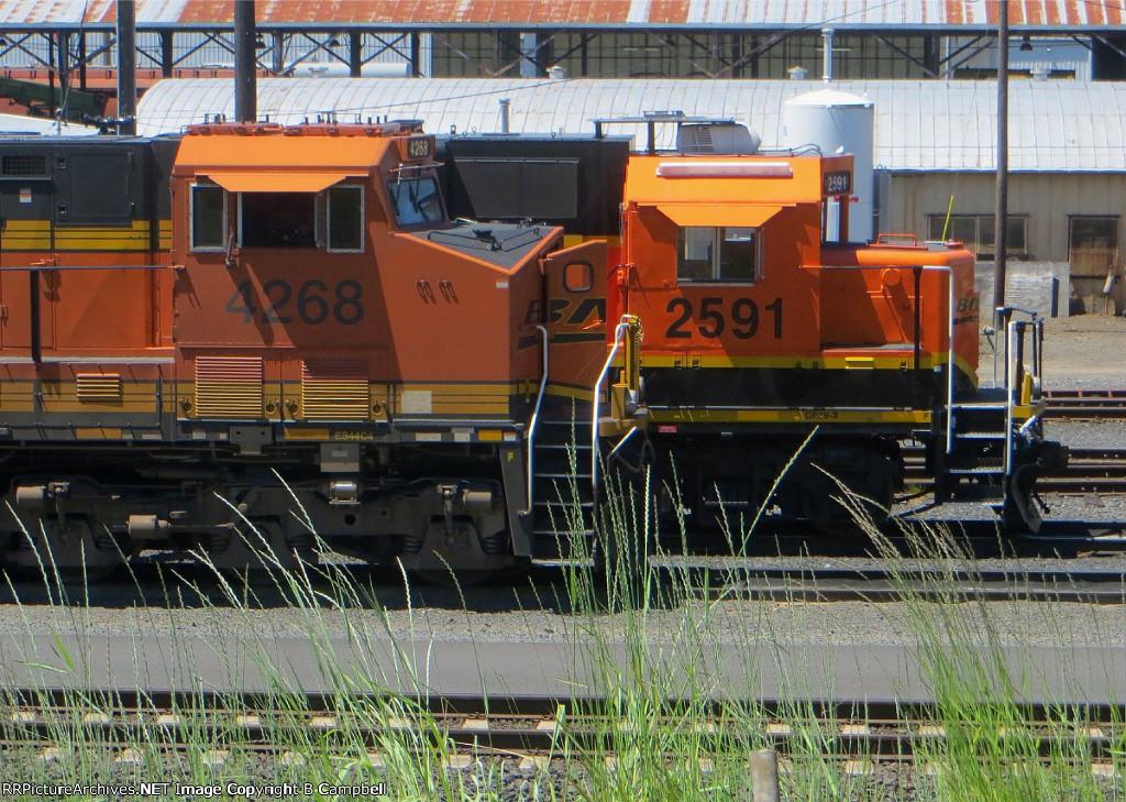 BNSF 4268-BNSF 2591