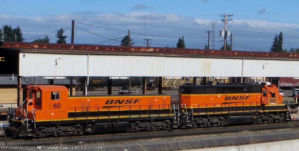 BNSF 60-BNSF 1560