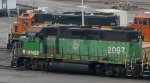 BNSF 2097
