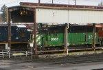 BNSF 2723-CSX 3435