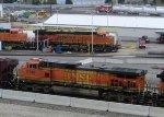 BNSF 5240-BNSF 6756