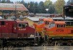 CP 8580-BNSF 5060-BNSF 4736