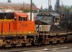 NS 9291-BNSF 7008