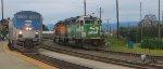 AMTK 202-BNSF 2088-BNSF 2085-BNSF 4389