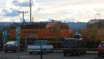 BNSF 2640-UP 5624