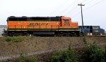 BNSF 2918-CSX 738