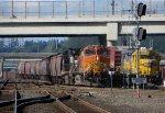 BNSF 4184-NS 9315-BNSF 2855
