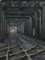 Columbia River Train Bridge