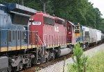 HLCX SD40-2 7203