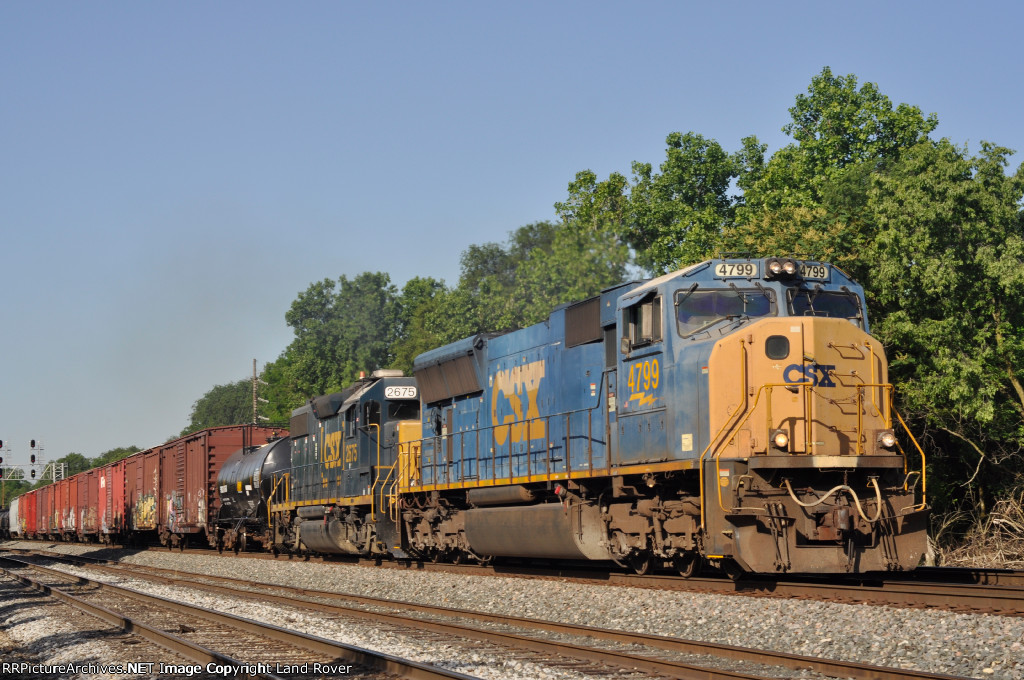 CSXT 4799 On CSX S 506 Northbound