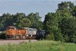 BNSF 5151 On NS 216 Westbound