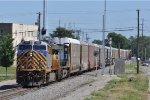 CREX 1523 On CSX Q 217 Eastbound