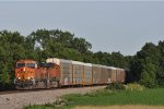 BNSF 7935 On NS 288 Westbound