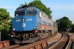 Metra North F40PH-3C 4909