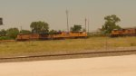NB UP coal train meets SB UP mixed freight