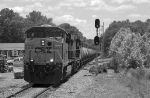 K895 headed for Clifton Forge