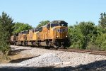 UP SD70M's 4355 and 3907, and AC45CCTE 5409