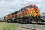 BNSF 4840 and 2 Sister 9s