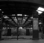 long since a passenger walked thru this gate.