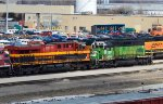 BNSF 1861 and KCSM 4712