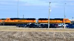BNSF 283 and 254