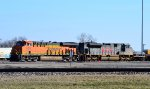 BNSF 8205 and KCS 4009