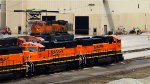 BNSF 282 and 279