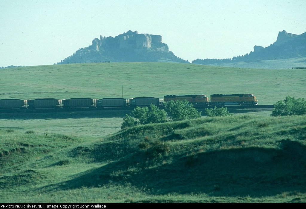 Coal Train at Crow Butte