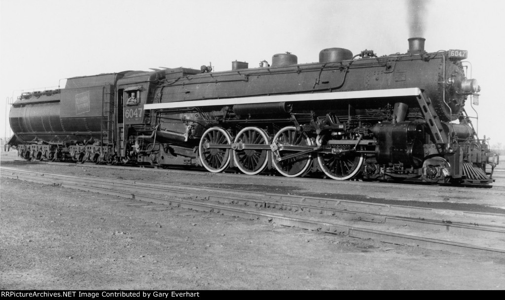 CN 4-8-2 #6047 - Canadian National