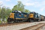 CSX 8626 and CSX 6495
