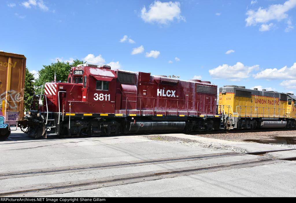 HLCX 3811 Roster.