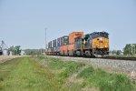 CSX 972 Heads east toward Deshler Ohio.