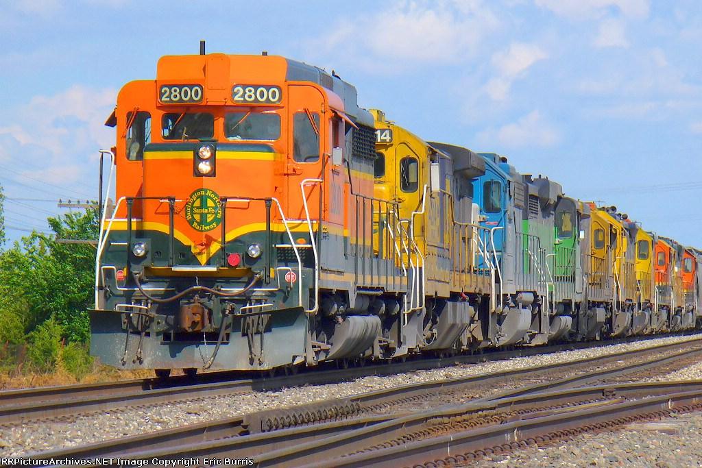 BNSF 2800 west