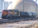 BNSF 2031 Moves a Few Tankers for ADM