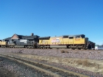 UP 5224 Rolls East Past the Depot