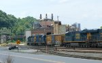 Y120 yard job brings cars back from the Norfolk Southern