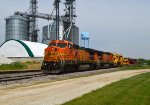 BNSF 538 and 514