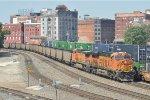 BNSF Coal Empties in the West Bottoms