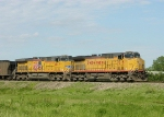 UP 7215 and 6037