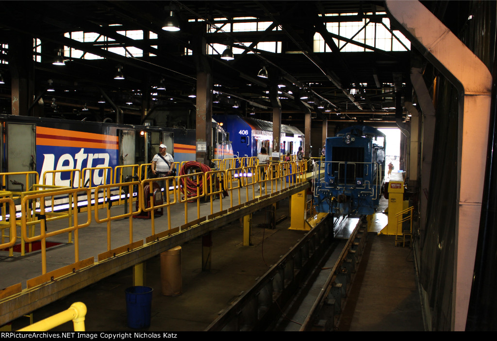Metra Locomotive Shops