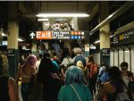 Subway throng