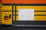 BNSF 3738's General Electric Data Plate.