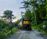 Housatonic Railroad NX-13 Along the Housatonic River