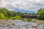 CSRR Train 10 Over the Saco River